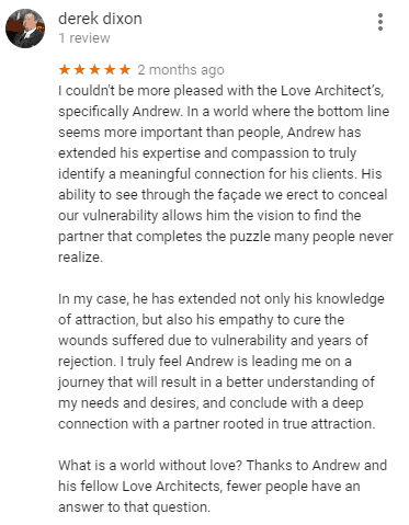 google reviews for Love Architects
