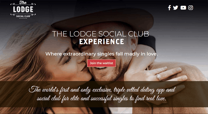 the lodge social club dating app