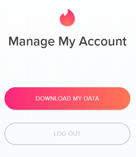 download Tinder data