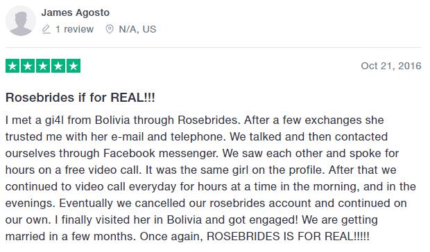 rosebrides review