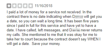 matchmaking service review