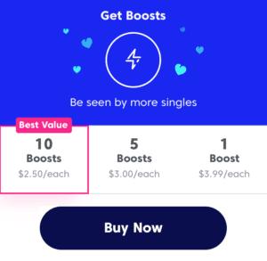 match boost cost