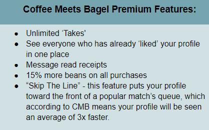 CMB premium features