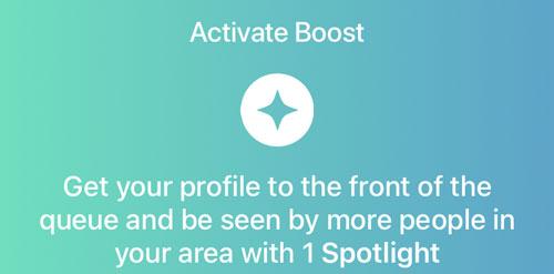 Bumble Boost Spotlight