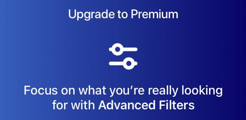 Bumble Premium advanced filters