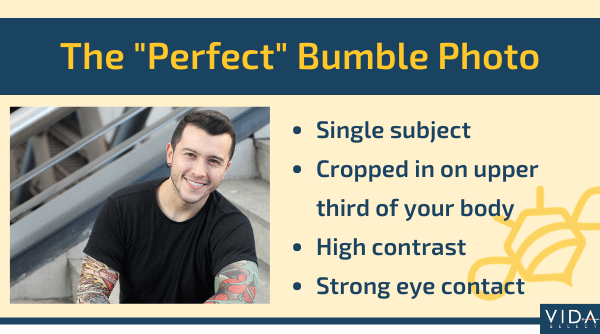 4 characteristics of a perfect Bumble photo