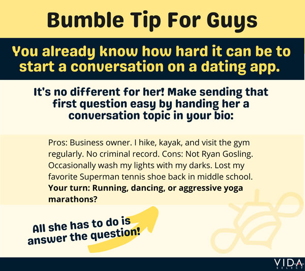 Bumble Tip For Guys