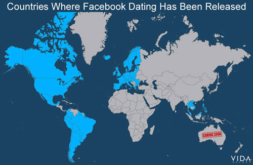 Facebook Dating Countries List
