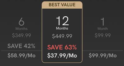 Luxy black price