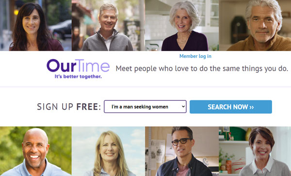 OurTime reviews
