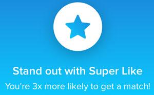 Super Like on Tinder