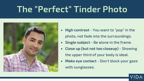 perfect Tinder photo tips