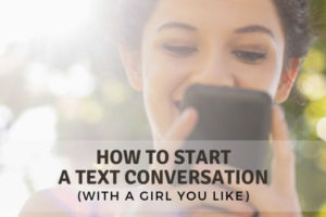 how to start a text conversation