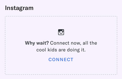 how to connect OkCupid to Instagram