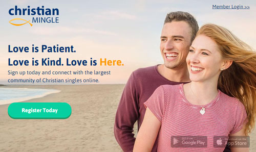 Christian Mingle dating site