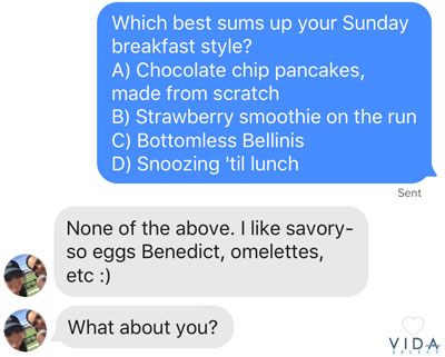 successful dating site messages