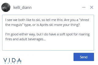 skiing one size fits all first message