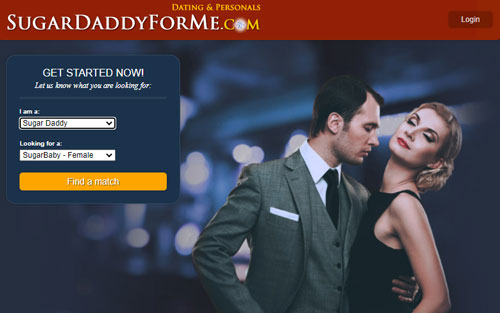 SugarDaddieForMe.com dating site for sugar relationships