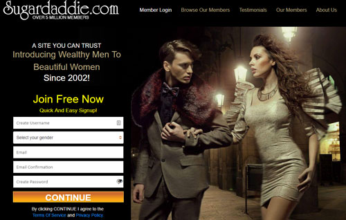 Sugardaddie.com dating site