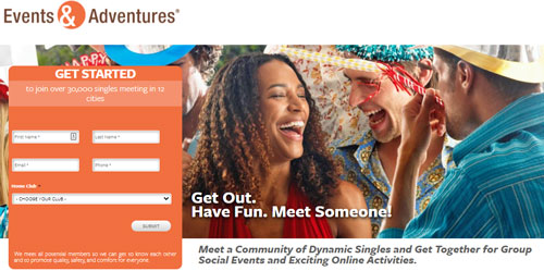 Events And Adventures alternative to online dating