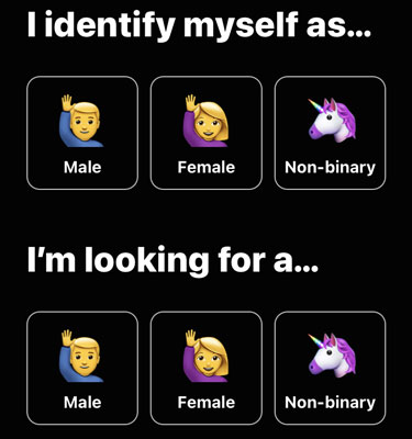 Hily gender selection