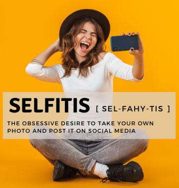 Selfitis definition
