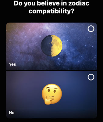 Zodiac compatibility question
